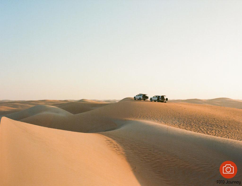 Camping in the Desert on Ektar 100 with a Mamiya 645