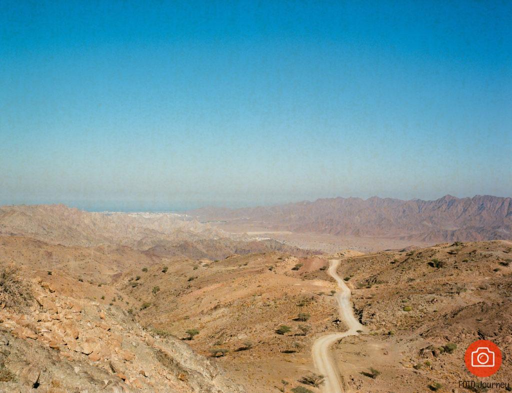 Desert landscape shot on Portra 160 with a Mamiya 645